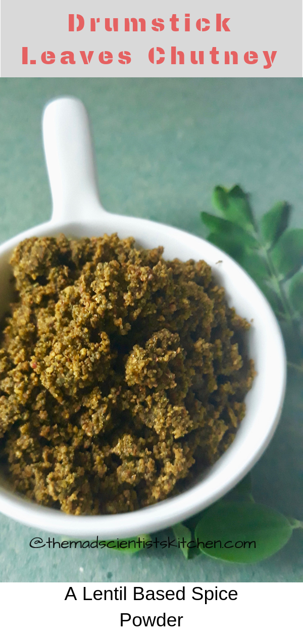 Drumstick Leaves Chutney Powder