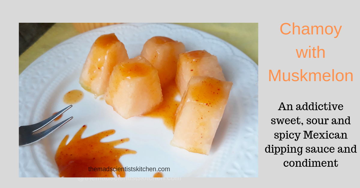 Easy Peasy Chamoy with Muskmelon