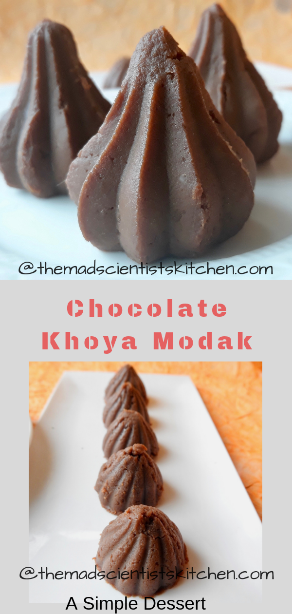 Chocolate Khoya Modak