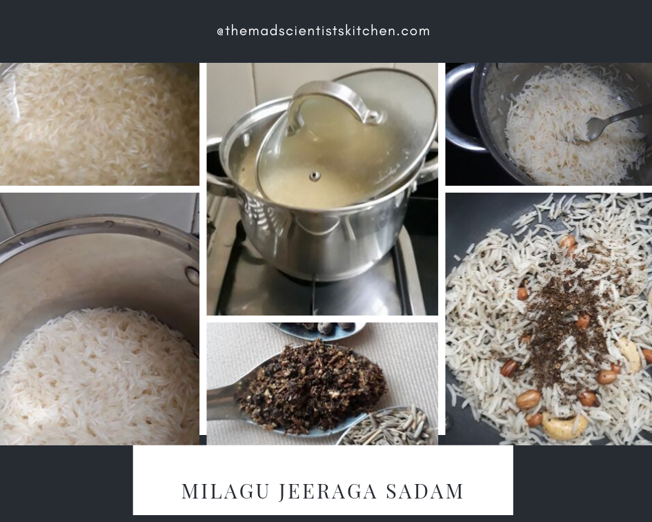 How to make Milagu Jeeraga Sadam