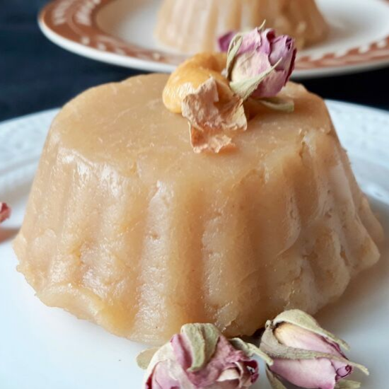 Traditional Whole Wheat Flour Halwa