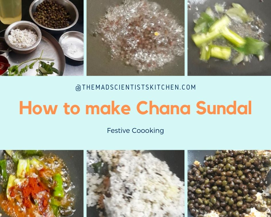 How to make Chana Sundal