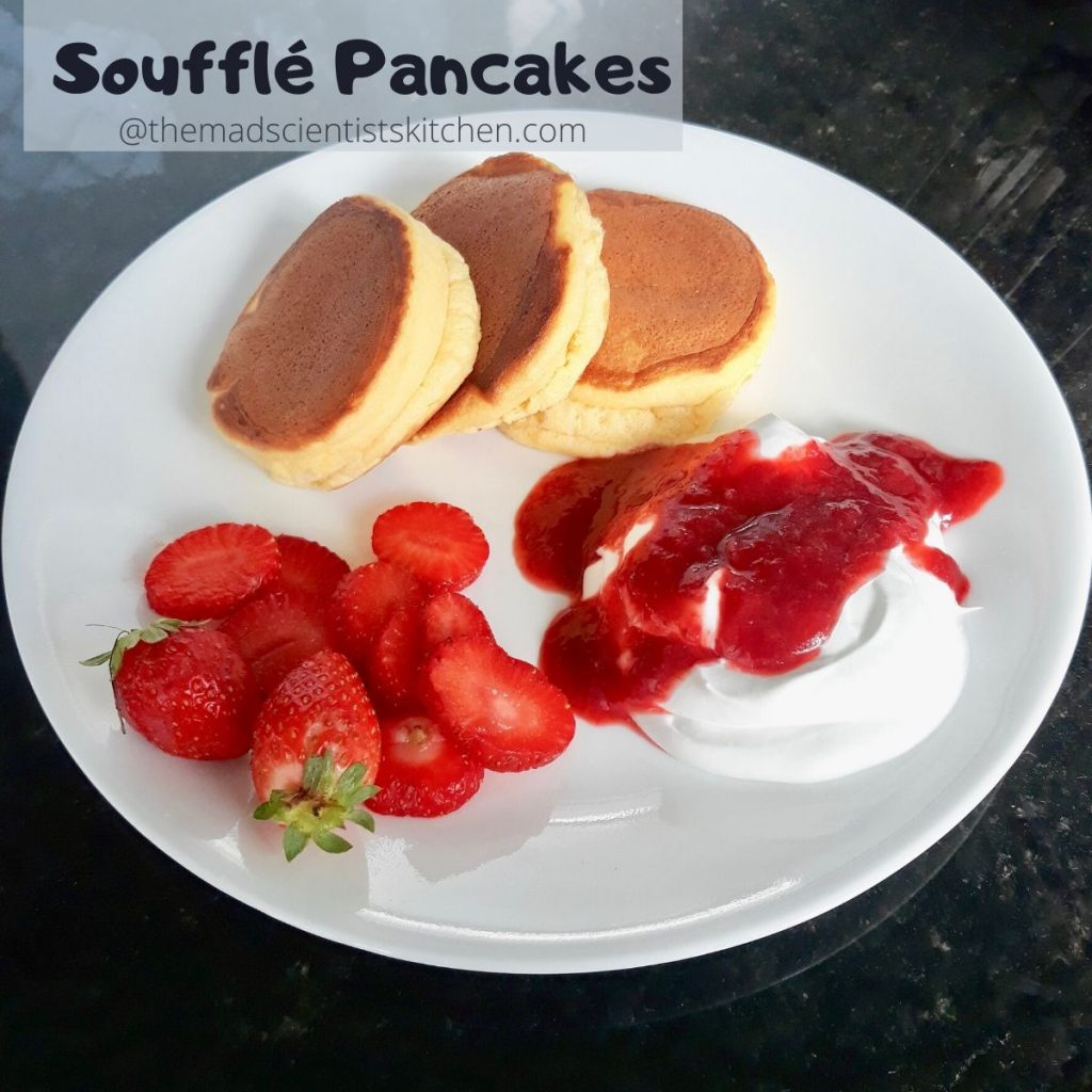 Breakfast with Japanese Pancakes
