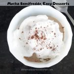 Serving of Mocha Semifreddo