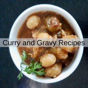 Curry and Gravy Recipes