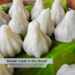 Mould used to make these steamed modak