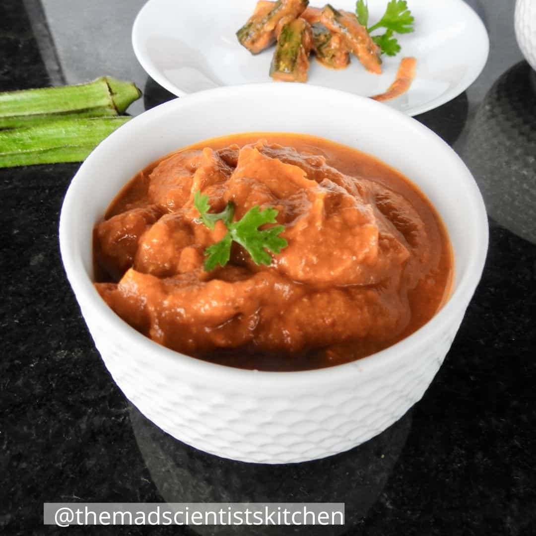 Curry base for easy homemade gravies