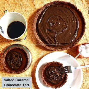 Decadent Salted Caramel Chocolate Tart