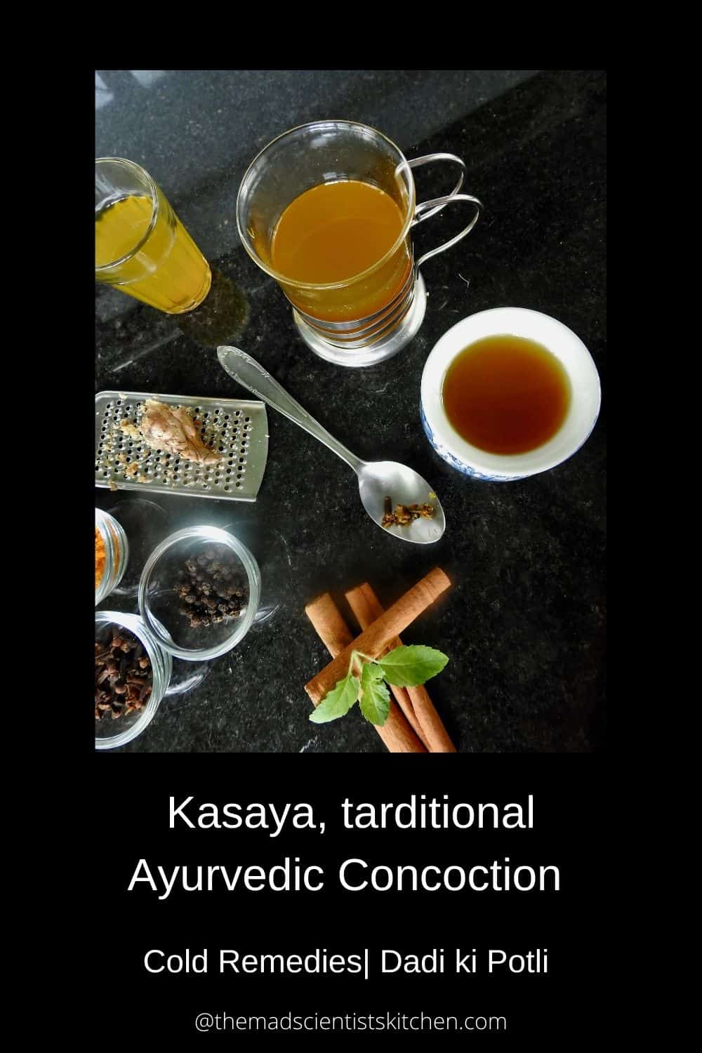 Kasayam, with most of its ingredients