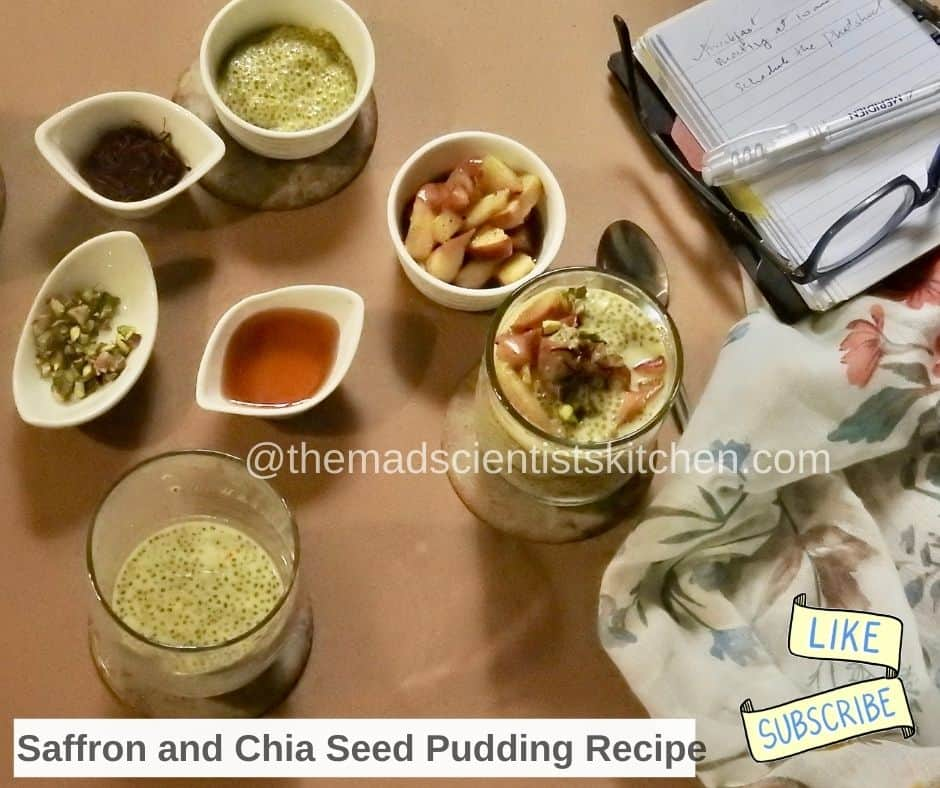 Easy Steps and important Saffron and Chia Seed Pudding Recipe