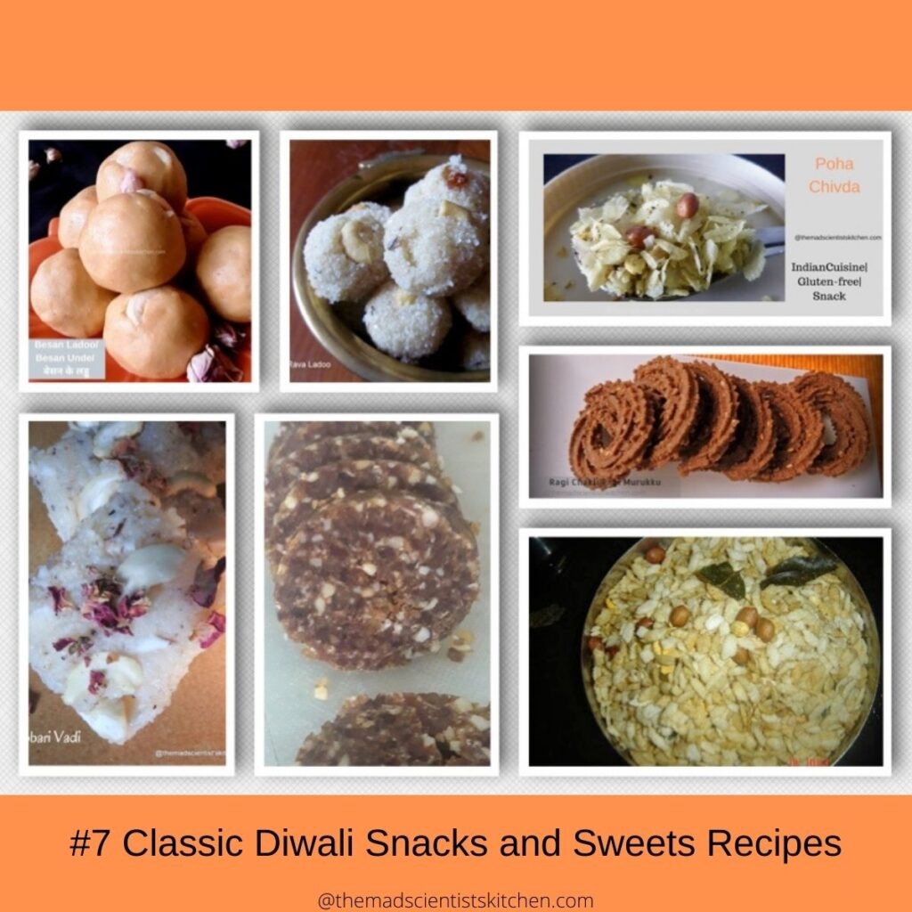#7 Classic Diwali Snacks and Sweets Recipes