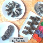 Edible gifts sugar-free dry fruit rolls