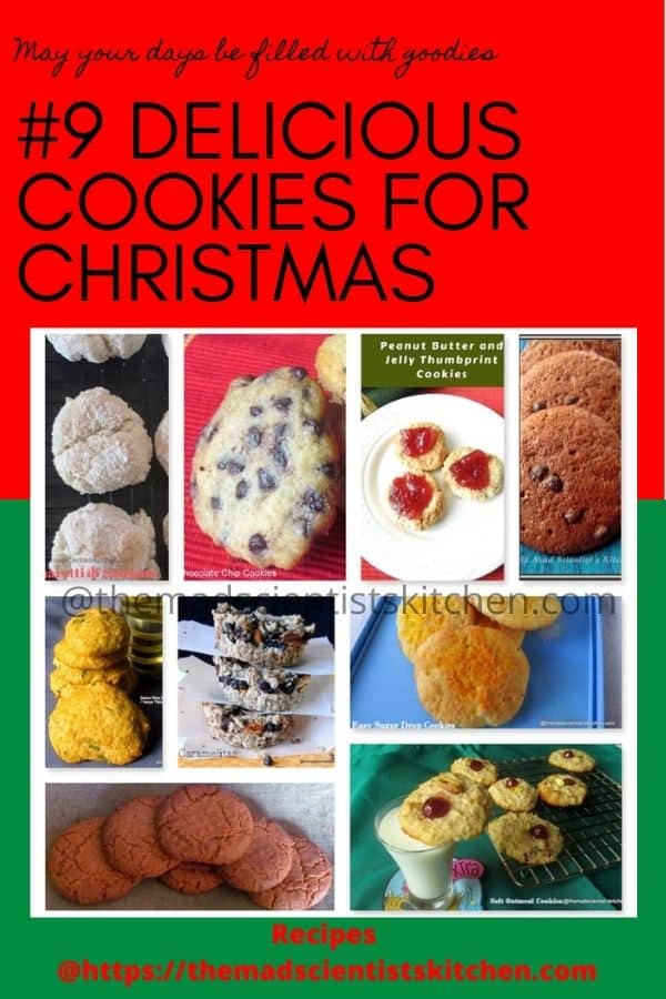9 favourite cookie recipes for Christmas