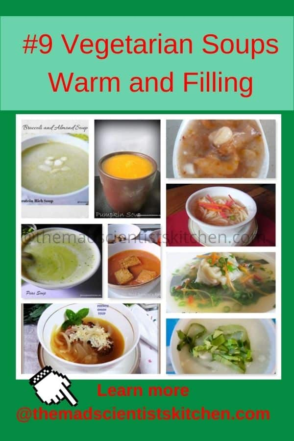9 vegetarian soups delicious and warming