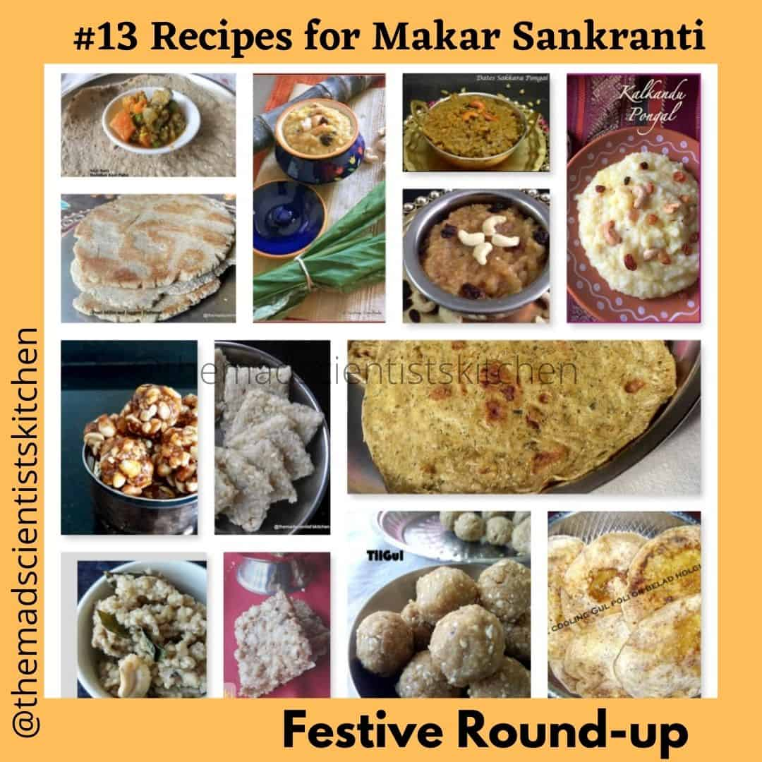 Delicious round-up of 13 recipes for Sankarnti