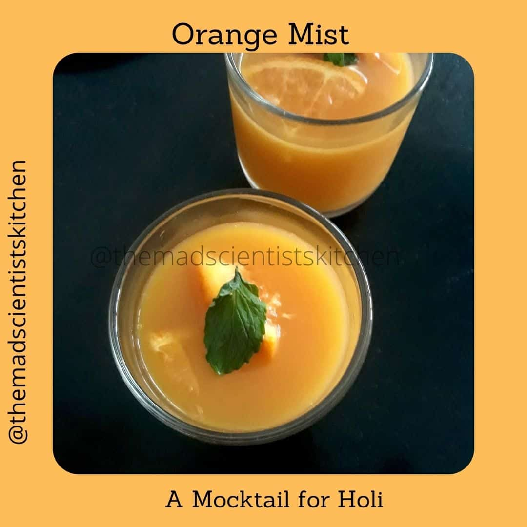 Simple non-alcoholic drinks for Holi