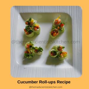 Dishing up some cheer with Cucumber Roll-ups Recipe