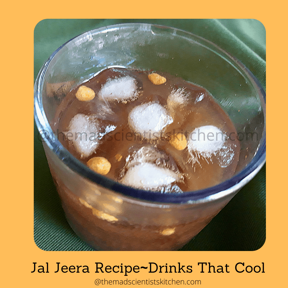 Delicious Jal Jeera,a summer cooler