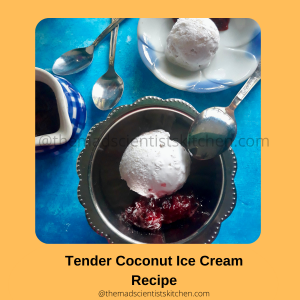 Serve up some tender coconut ice cream at home