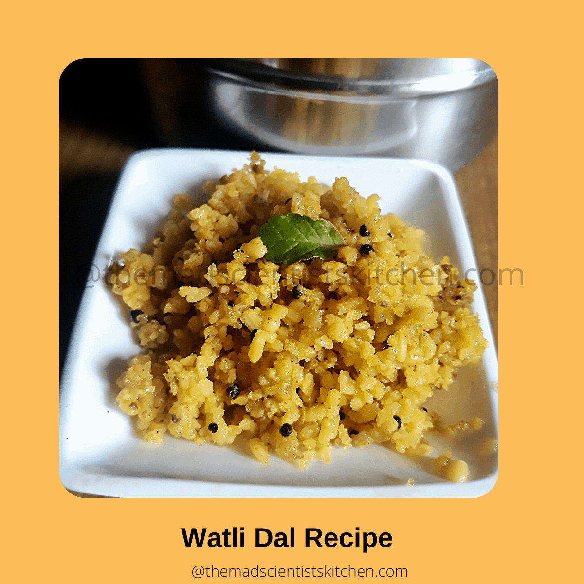 This Padwa I made this easy Vati Dal recipe for a snack.