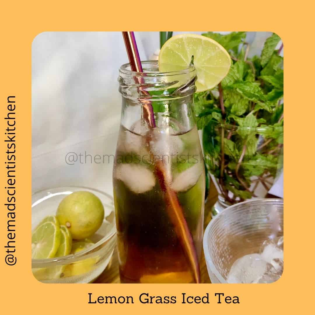 Include the goodness of lemongrass in your cuppa. Lemongrass Iced Tea