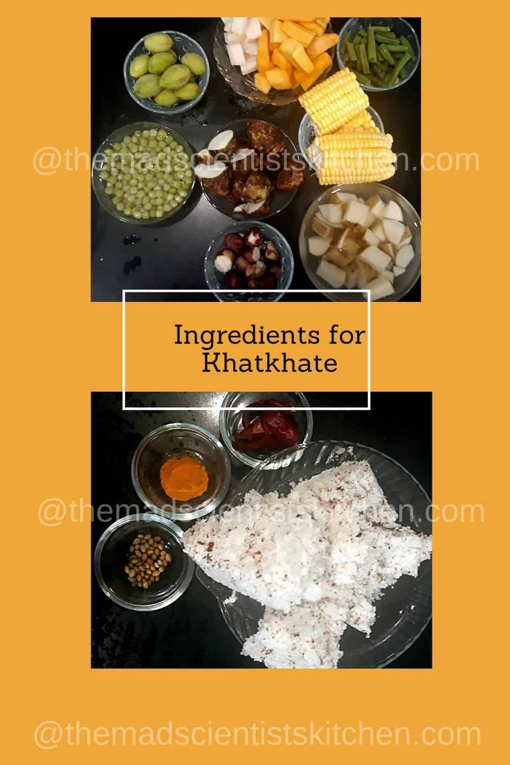 ingredients for Khatkhate